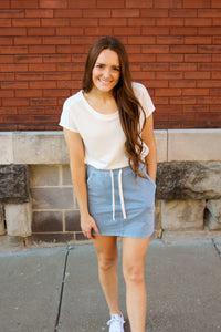 Brooklyn Day Skirt - Simply L Boutique