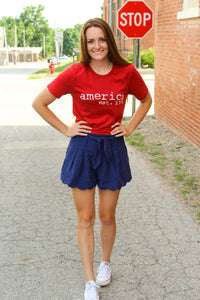 America Graphic Tee - Simply L Boutique