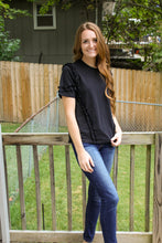 Load image into Gallery viewer, Not Your Average Black Tee - Simply L Boutique