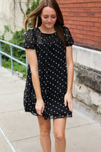 Load image into Gallery viewer, Babydoll Polka Dot Dress