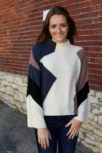Abigail Colorblock Sweater