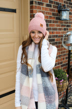 Load image into Gallery viewer, Pink Pom Pom Beanie