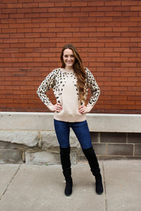 All About the Leopard Sweater