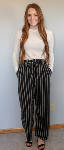 Striped Pocket Pant - Simply L Boutique