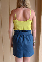 Load image into Gallery viewer, Navy Button Skirt - Simply L Boutique