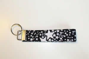 Silver Stars Key Wristlet - Simply L Boutique