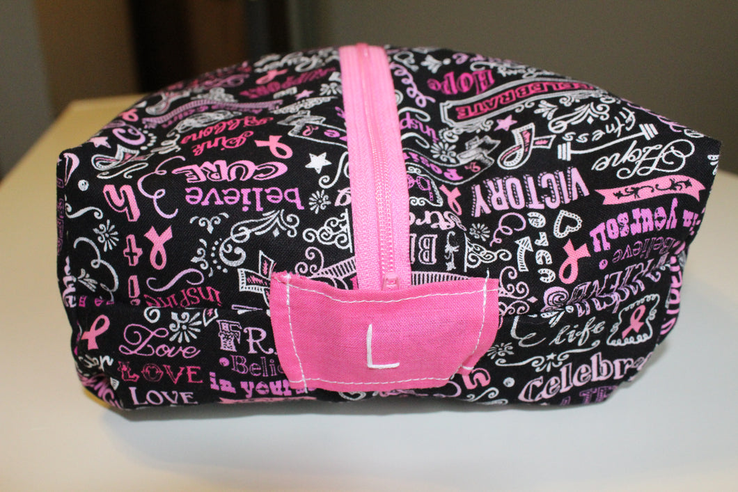 Beat Breast Cancer Utility Bag - Simply L Boutique