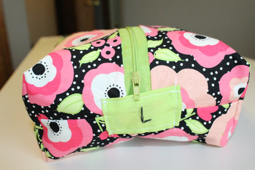 Floral Polka Dot Utility Bag - Simply L Boutique