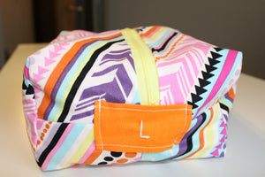 Multi Stripe Utility Bag - Simply L Boutique