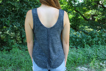 Load image into Gallery viewer, Cozy Heather Charcoal Tank - Simply L Boutique