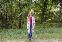 Load image into Gallery viewer, Striped Oatmeal Long Cardigan - Simply L Boutique