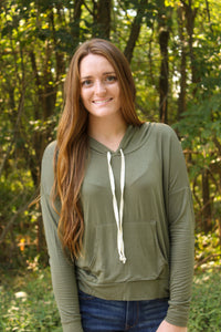 Olive Cozy Days Top - Simply L Boutique