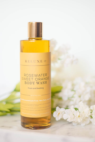 Rosewater Sweet Orange Body Wash