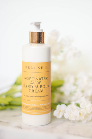 Rosewater Aloe Hand & Body Cream