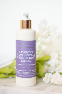 Lavender Lemongrass Hand & Body Cream
