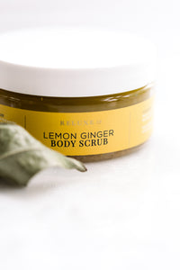 Lemon Ginger Body Scrub