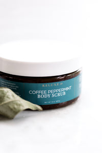 Coffee Peppermint Body Scrub