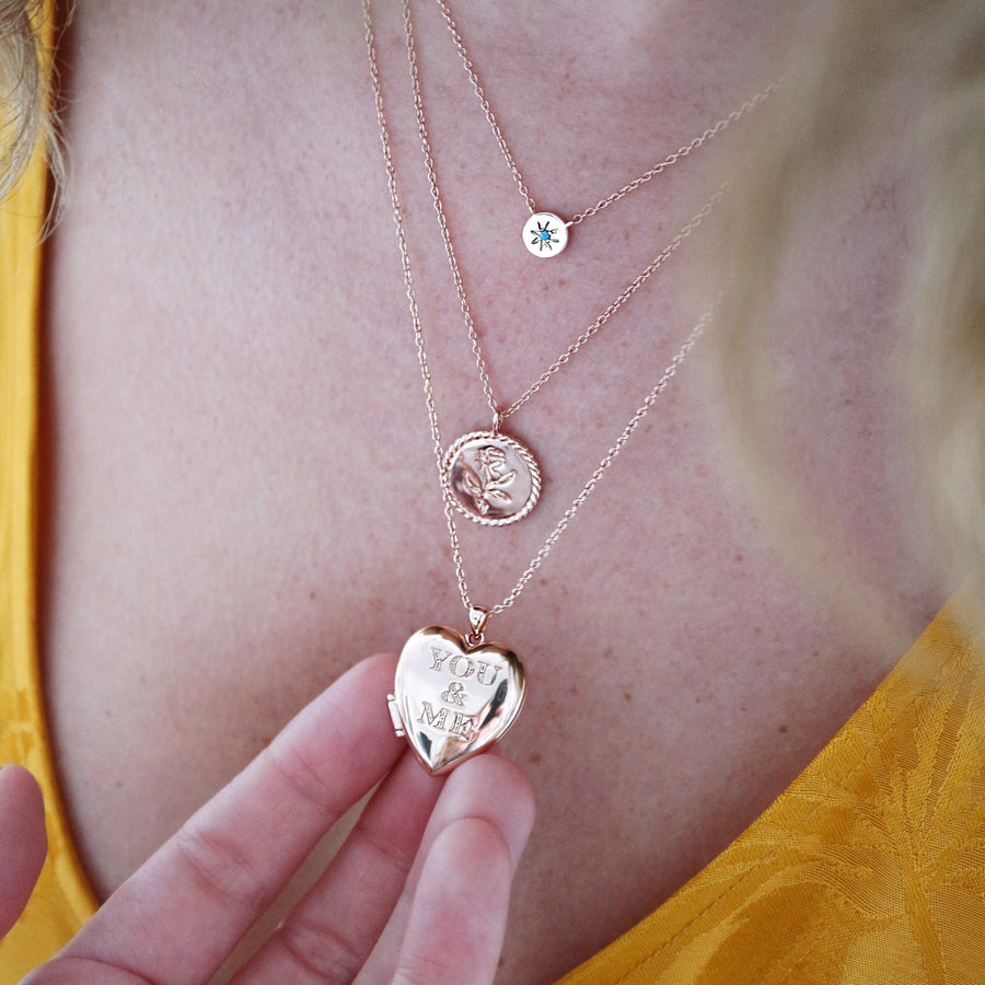 'You and Me' Layered Necklace Set