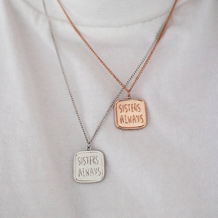 Sisters Always Necklace