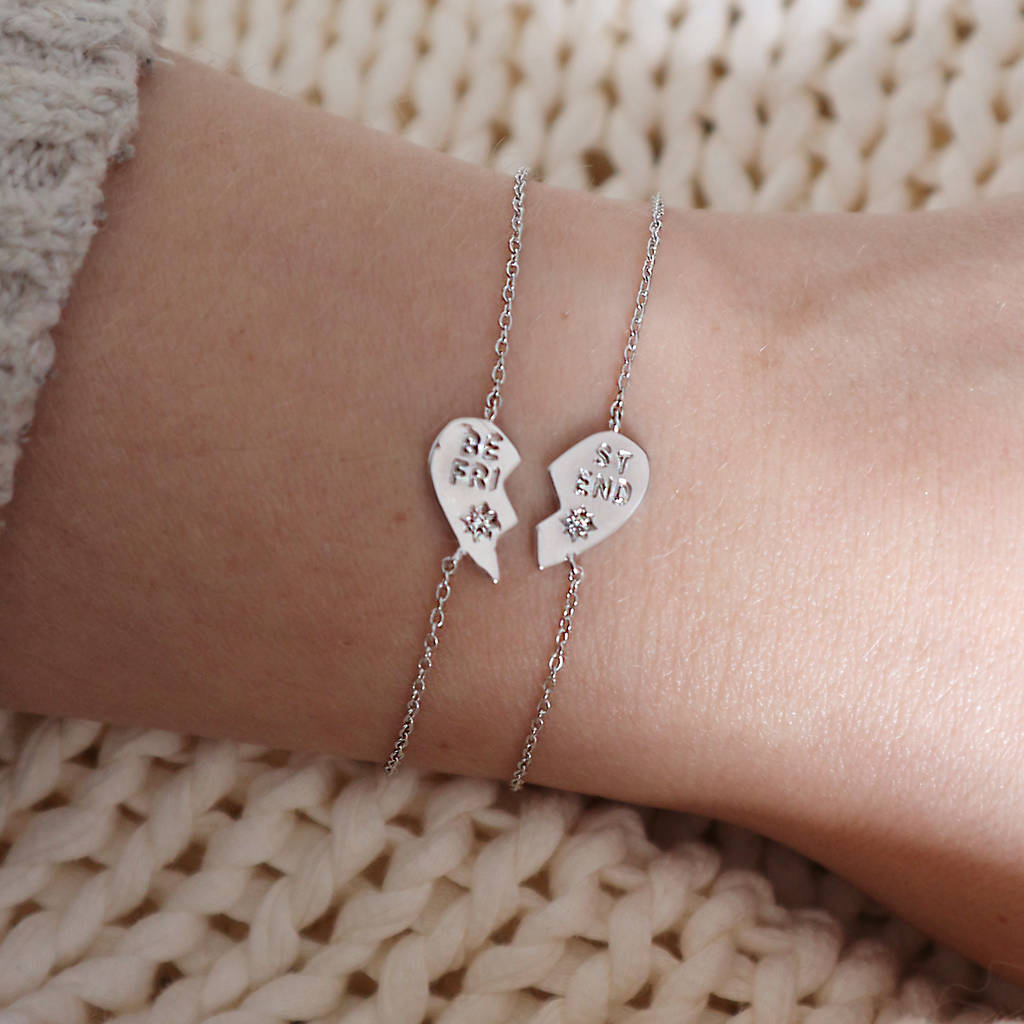 'Best Friends' Set Of Two Bracelets