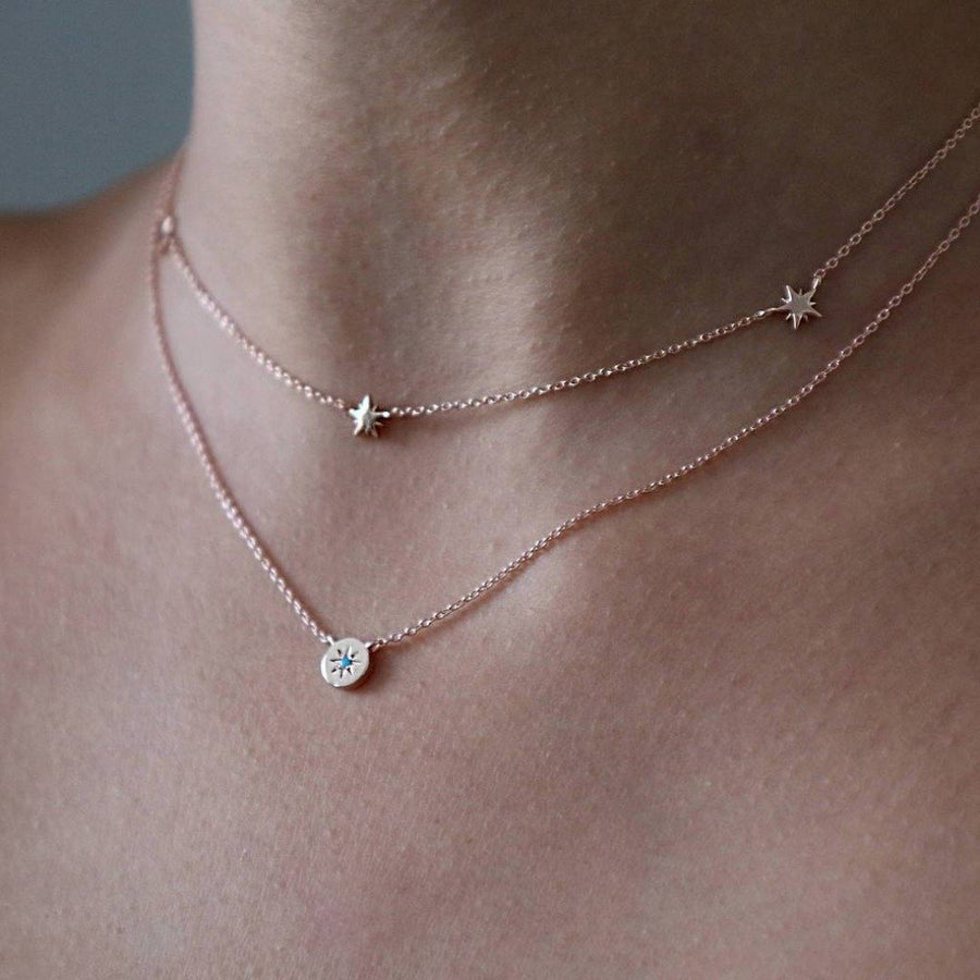 Delicate Charm Layered Necklace Set