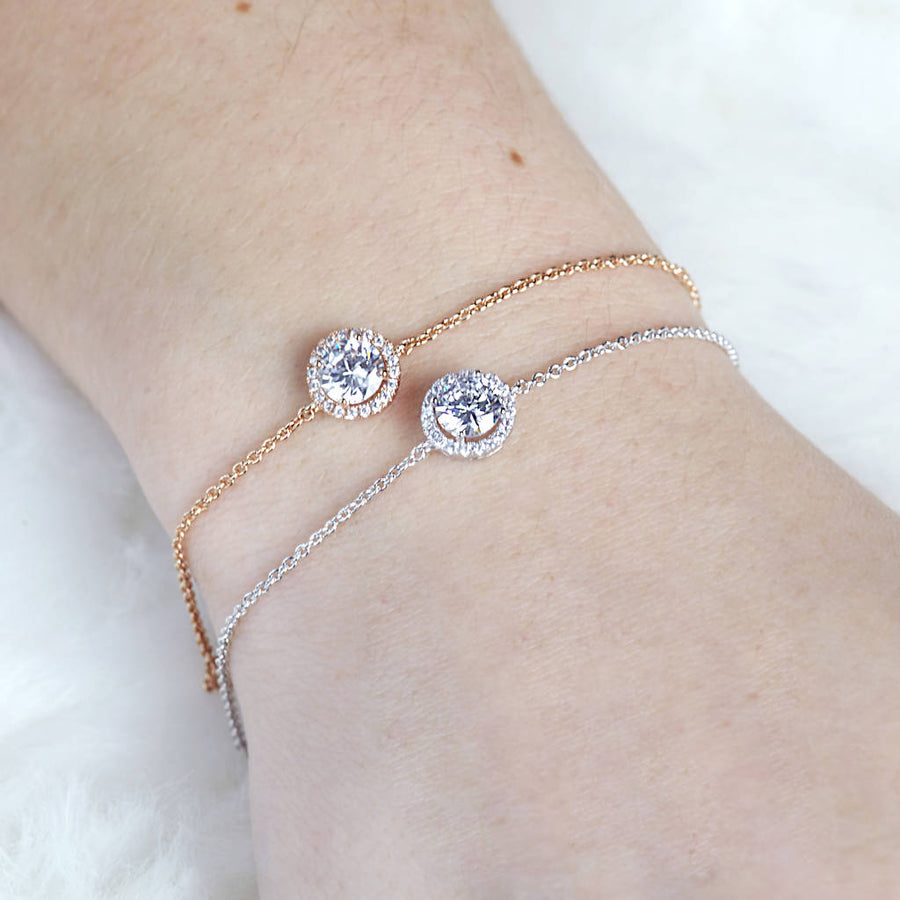 Delicate Jewel Bracelet Bridesmaid Gift