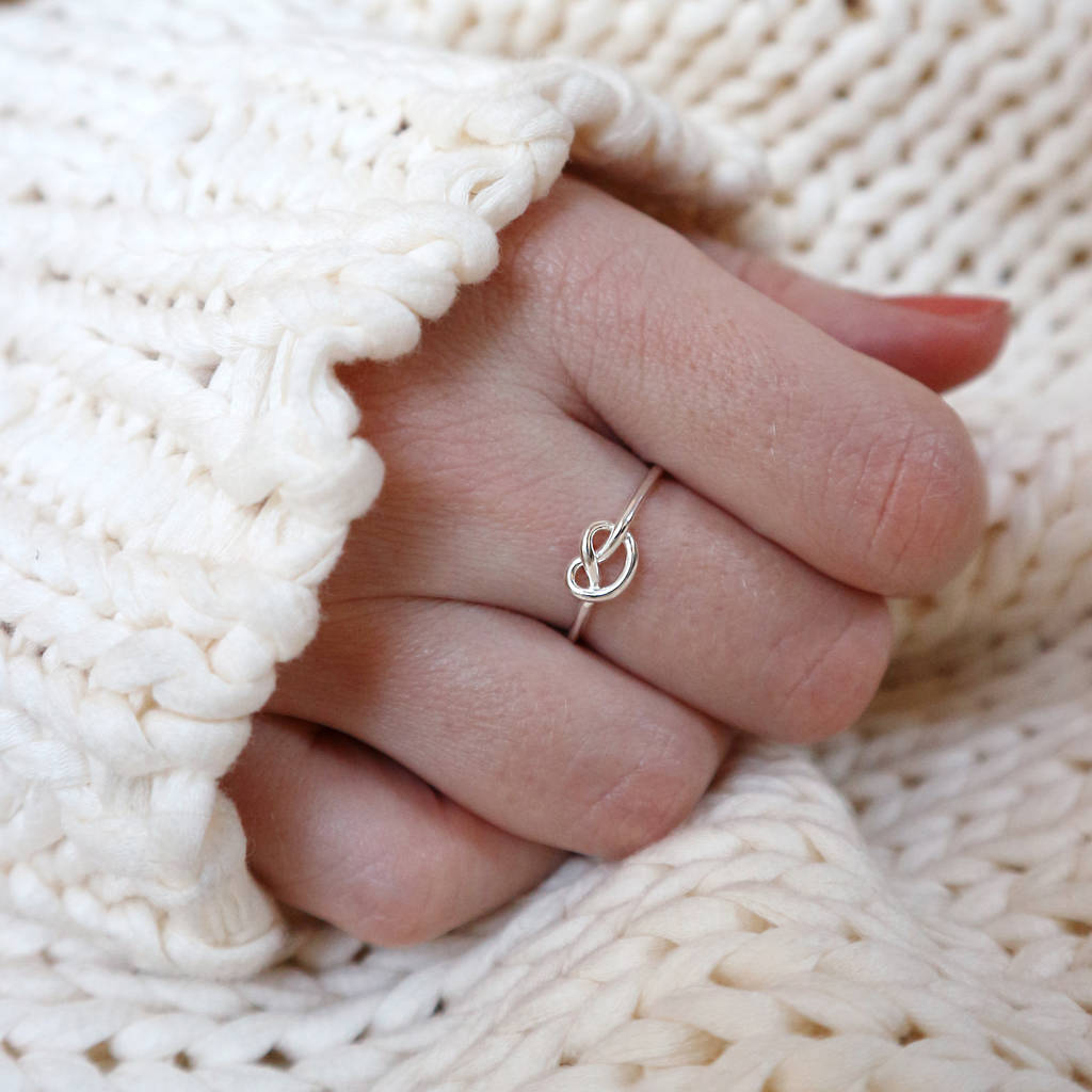 'I Couldn't Tie The Knot Without You' Bridesmaid Ring
