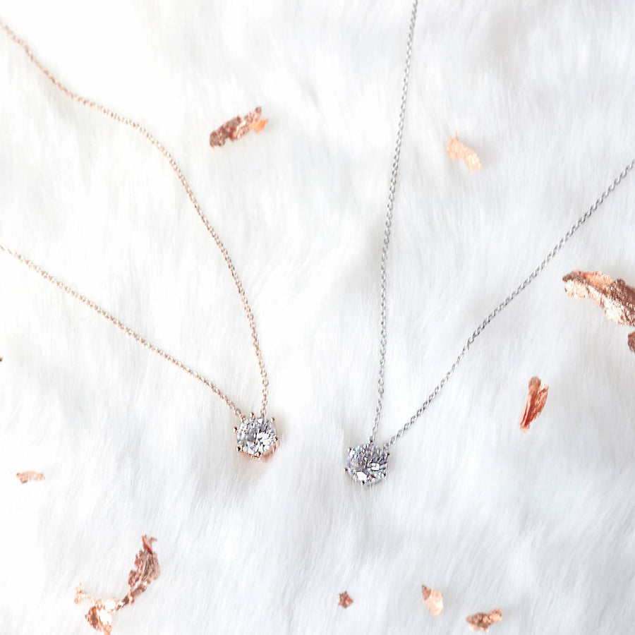 Jewel Necklace Bridesmaid Gift