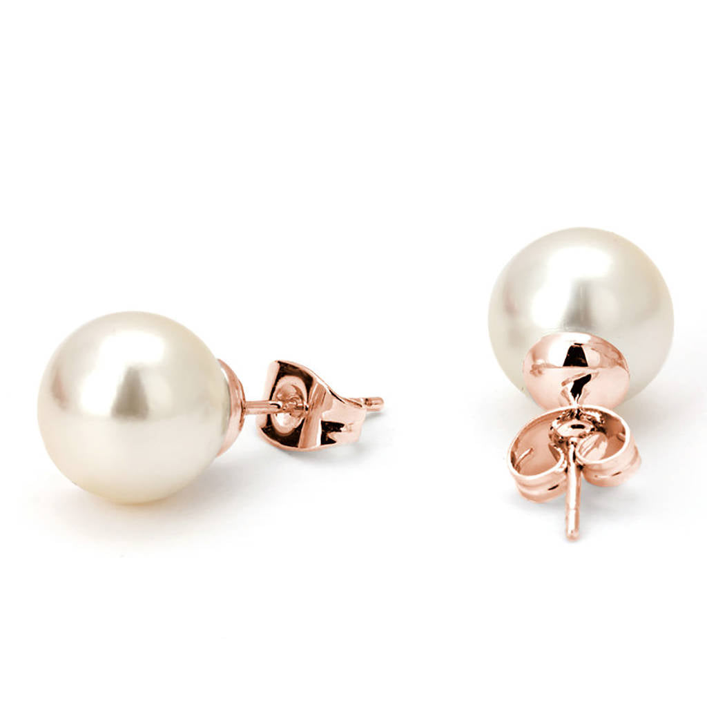 Pearl Earrings Bridesmaid Gift