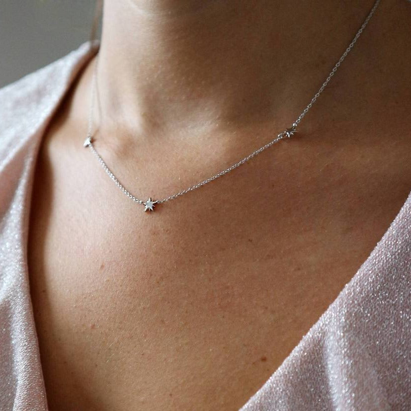 Triple Star Necklace - PRE-ORDER
