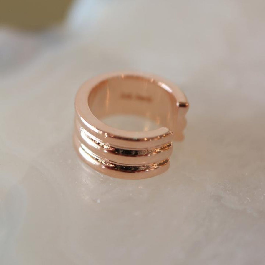 Rose Gold Ear Stacking Set