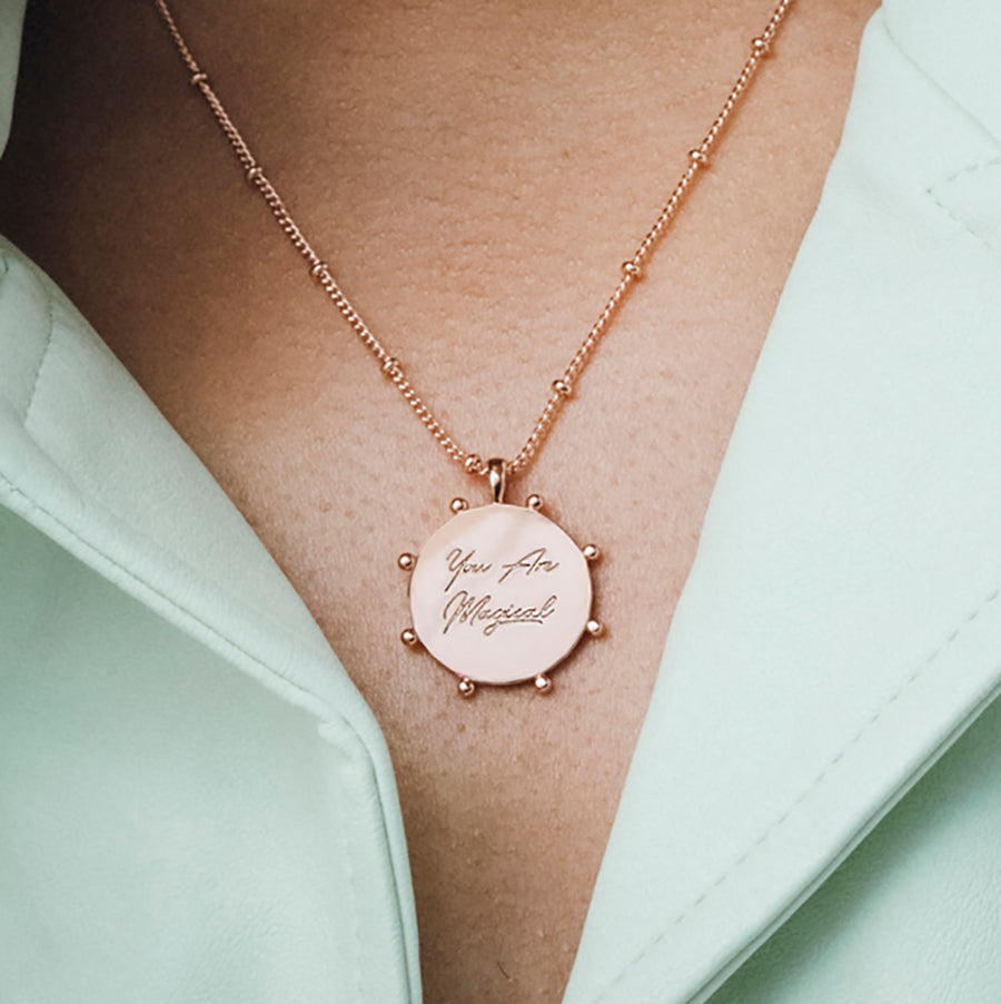 'You Are Magical' Layered Necklace Set