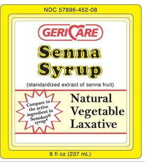 25372700 Laxative Senna Liquid 8 oz. 8.8 mg Strength Sennosides