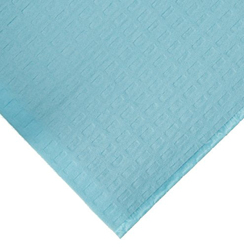 2ply Tissue/Poly Blue Dental Bib