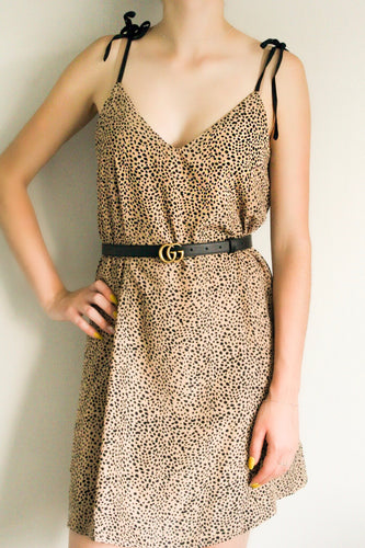 Luna Leopard Print Dress - Shop Floresa Trendy Women's Clothing
