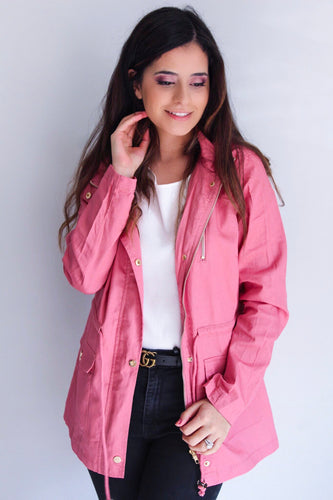 Pink Light Jacket - Shop Floresa Trendy Women's Clothing