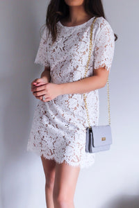 Lilah Lace Dress - Shop Floresa Trendy Women's Clothing