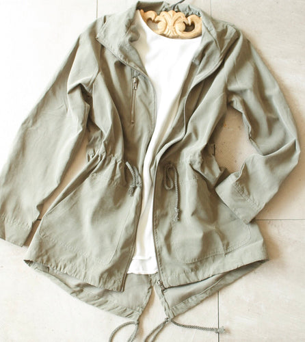 Green Military Jacket - Shop Floresa Trendy Women's Clothing