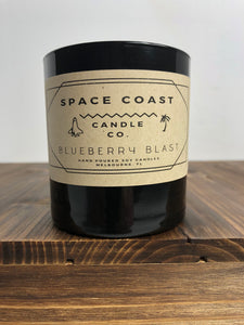 Blueberry Blast - 10 oz Soy Candle (Tumbler) - Space Coast Candle Co.