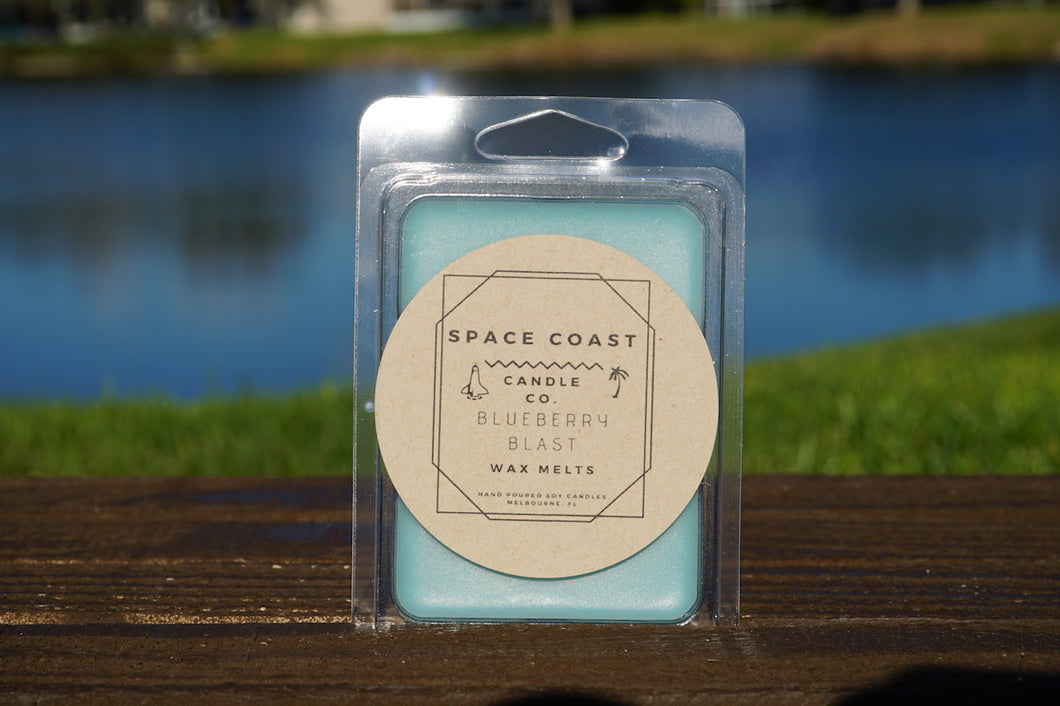 Blueberry Blast - Soy Wax Melts - Space Coast Candle Co.