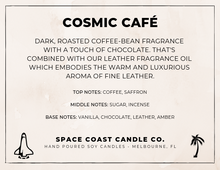 Load image into Gallery viewer, Cosmic Café - 10 oz Soy Candle (Jar) - Space Coast Candle Co.