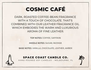 Cosmic Café - 10 oz Soy Candle (Jar) - Space Coast Candle Co.