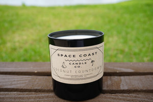Coconut Countdown - 10 oz Soy Candle (Tumbler) - Space Coast Candle Co.