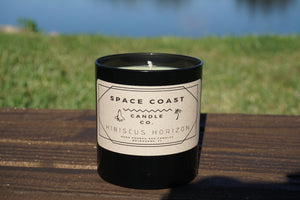 Hibiscus Horizon - 10 oz Soy Candle (Tumbler) - Space Coast Candle Co.