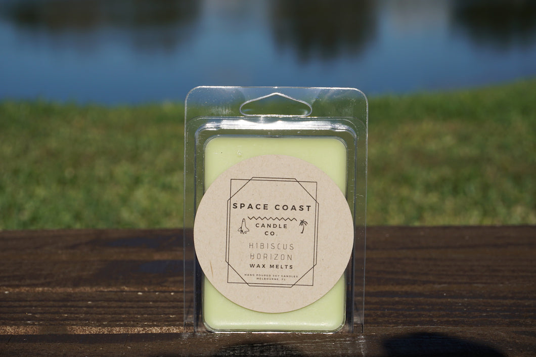 Hibiscus Horizon - Soy Wax Melts - Space Coast Candle Co.