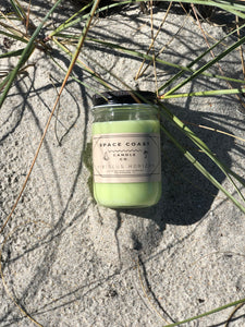 Hibiscus Horizon - 10 oz Soy Candle (Jar) - Space Coast Candle Co.