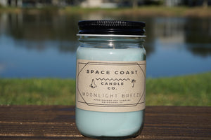 Moonlight Breeze - 10 oz Soy Candle (Jar) - Space Coast Candle Co.