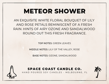 Load image into Gallery viewer, Meteor Shower - 10 oz Soy Candle (Tumbler) - Space Coast Candle Co.