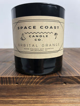 Load image into Gallery viewer, Orbital Orange - 10 oz Soy Candle (Tumbler) - Space Coast Candle Co.