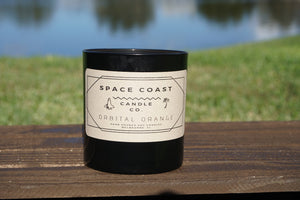 Orbital Orange - 10 oz Soy Candle (Tumbler) - Space Coast Candle Co.